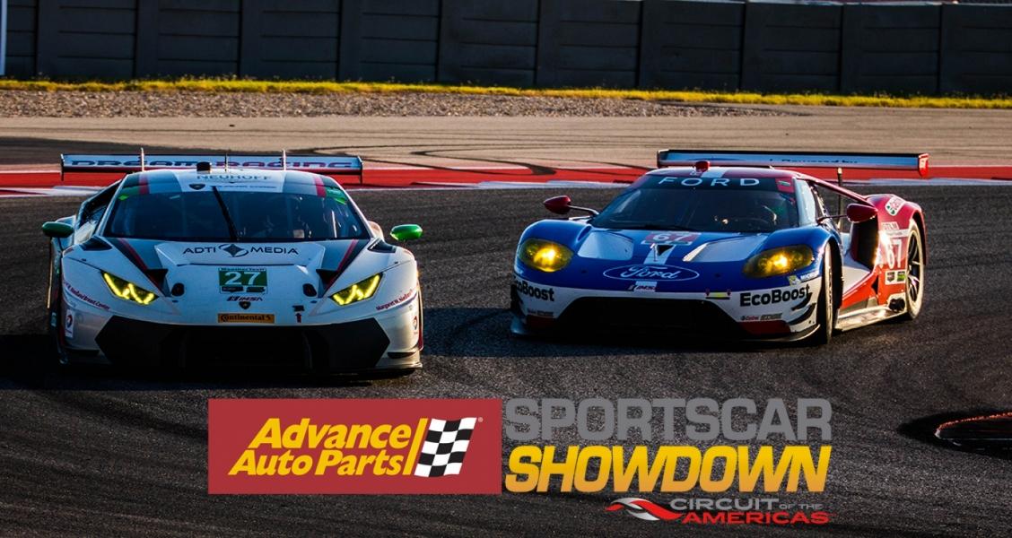 Advance Auto Parts Sportscar Showdown Set for May 4 – 6th at COTA