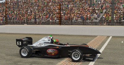 Denes Edges Eves in Road to Indy eSeries Indianapolis Thriller