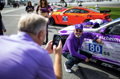 Racing to End Alzheimer's Goes from Road Trip to Track at Sebring