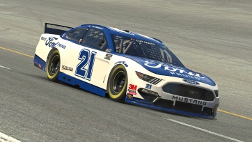 Wood Brothers Racing Virtual Dover Advance