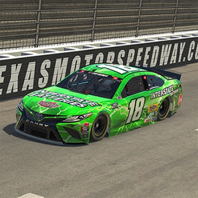 Interstate Batteries Racing: Kyle Busch iRacing Pro Invitational Texas Advance