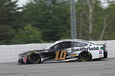Almirola Finishes Solid Third at Pocono