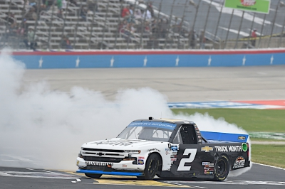 Sheldon Creed puts second GMS Racing truck into championship race with Texas win