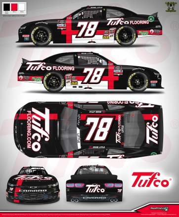 Tufco Flooring Partners with Jesse Little at Atlanta Motor Speedway