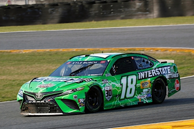 Kyle Busch, No. 18 Interstate Batteries Toyota Camry Race Recap for the Daytona 253