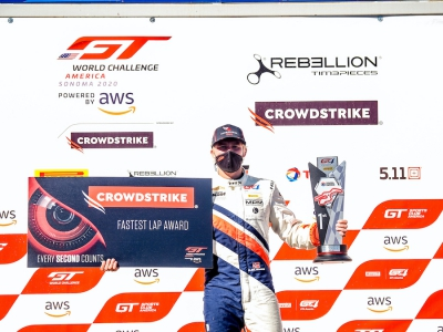 CrowdStrike Racing Carries GT World Challenge America Championship Lead Into Road America