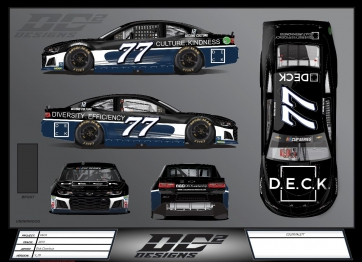Spire Motorsports Partners with Deck Leadership for Martinsville, Phoenix