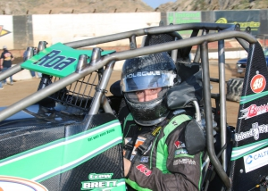 Brody Roa takes a roller coaster ride to come from behind for a third place finish at Bakersfield