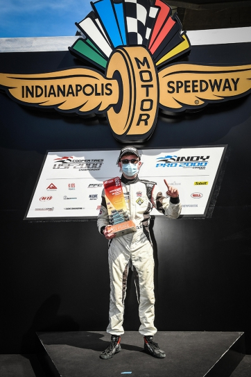 Barrichello, Gold Share USF2000 Honors at Indianapolis