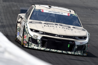 Ty Dillon shakes off wheel issue to capture top-25 at Coca-Cola 600