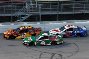 Newman Perseveres for 13th-Place Finish in Michigan