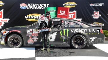 Ty Gibbs rebounds to grab the General Tire 150 win at Kentucky Speedway