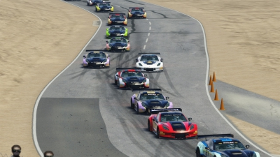 Sevadjian and Kicera Take Trans Am by Pirelli Esports Championship Riverside International Raceway Wins