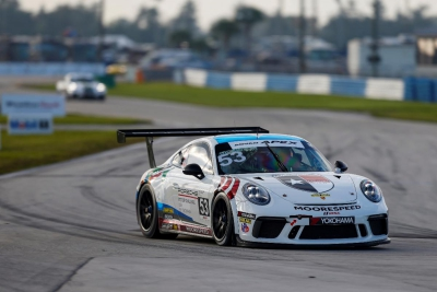 Dickinson Scores Fourth Porsche GT3 Cup Challenge Win of Season at Sebring