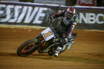 Wrecking Crew Rider Bronson Bauman Earns First Podium of the Season at Williams Grove Half-Mile I;  Indian FTR750 Sweeps Top Eight Positions in Both Weekend Races