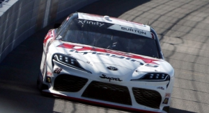 Burton Claims First Xfinity Series Win at Auto Club Speedway