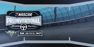 eNASCAR iRacing Pro Invitational Series Coverage Resources and News & Notes - Virtual Texas Motor Speedway