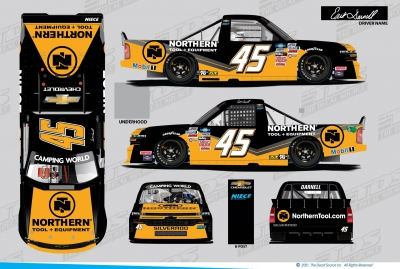 Erik Darnell Makes his Return to the NASCAR Camping World Truck Series at Darlington