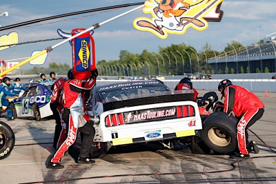 17th-Place Finish for Custer at Pocono