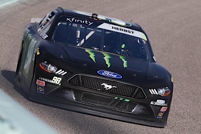 Riley Herbst Finishes 11th at Homestead
