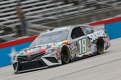Kyle Busch, No. 18 Zombie SKITTLES Toyota Camry Race Recap for the Autotrader EchoPark Automotive 500