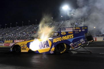 Capps tops speed chart at 66th annual DENSO Spark Plugs U.S. Nationals