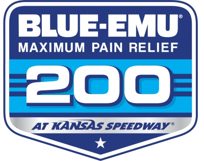 Blue Emu 200 results from Kansas Speedway