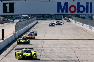 High Voltage Win for Brynjolfsson, Hindman in IMSA Prototype Challenge at Sebring International Raceway