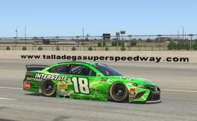 Talladega Invitational Race Report  Kyle Busch Scores Top-10 Finish in GEICO 70