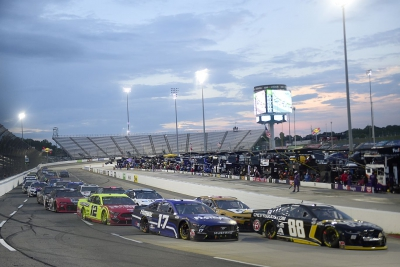 Buescher Battles His Way to 13th Place at Martinsville