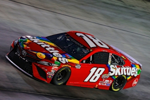 Kyle Busch, No. 18 Skittles Toyota Camry Race Recap for the Bass Pro Shops Night Race