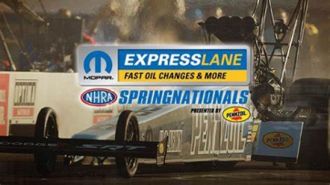 Tickets are now on sale for the 34th annual Mopar Express Lane NHRA SpringNationals presented by Pennzoil