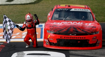 Justin Allgaier Sweeps the Weekend at America's Premier Short Track
