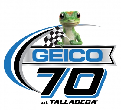 Ty Dillon leads GEICO 70 and gets spun going for the win