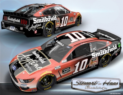 No. 10 Smithfield Ford Racing: Aric Almirola Martinsville 1 Advance