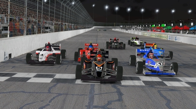 Eves, Denes Share Top Road to Indy iRacing eSeries Spoils