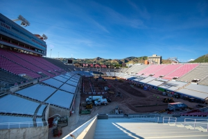 Mitigation Efforts Underway as Monster Energy Supercross Load In Continues