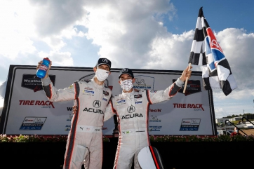 Comeback Captains: Castroneves and Taylor Win TireRack.com Grand Prix