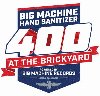 Big Machine Records 400 starting lineup at Indianapolis Motor Speedway