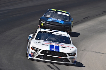 Chase Briscoe Scores Second at Texas