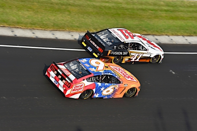Newman's Day Ends Early at Brickyard 400
