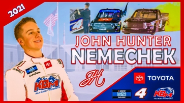John Hunter Nemechek to Compete for Truck Series Championship with KBM in '21