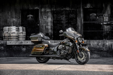 America's First Motorcycle Company & America's First Registered Distillery Celebrate Quality, American Craftsmanship with Jack Daniel's® Limited Edition Indian Roadmaster® Dark Horse®