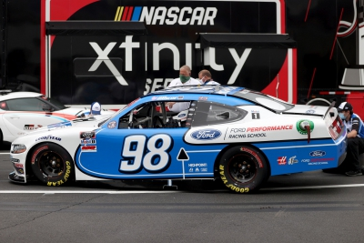 Chase Briscoe Finishes 20th at Charlotte