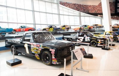 "NASCAR Hall of Fame opens new special exhibit: ""Haulin': 25 Years of NASCAR Trucks"""