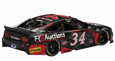 Fr8Auctions Return for Sixth Consecutive Season with Front Row Motorsports