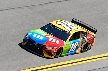 Kyle Busch, No. 18 M&M'S Toyota Camry  Race Recap for the Busch Clash