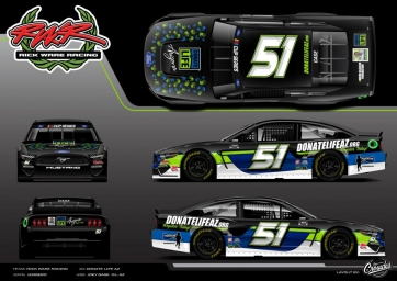 Joey Gase to honor fallen Police Officer and a 16 year old Arizonan during Phoenix Raceway Championship Weekend thanks to Donor Network of Arizona