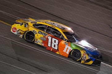 Kyle Busch, No. 18 M&M'S Toyota Camry Race Recap for the Federated Auto Parts 400