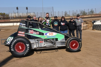 Brody Roa Heads To Hanford for Double Duty in Saturday's Dave Helm 410 Winged Sprint Car Classic